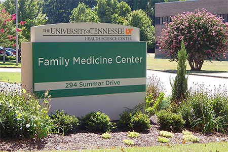 Family Medicine Center sign